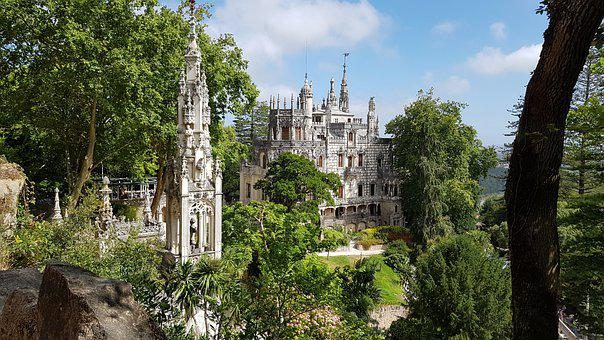 Lisbon, Sintra, Portugal, Architecture, Travel