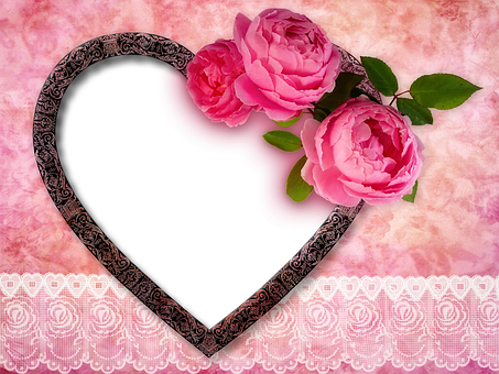 Heart, Roses, Great, Valentine'S Day
