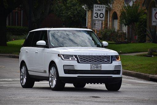 White Range Rover Sport, Suv, Cars, Residential