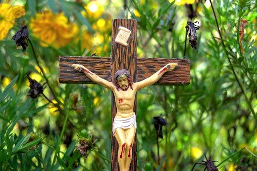 Cross, Crucifix, Jesus, Christ, God, Christian, Faith