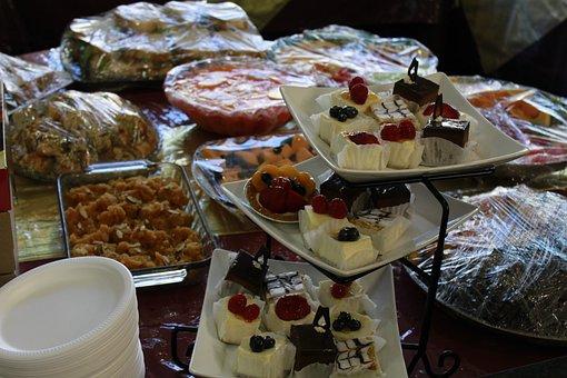Food, Desert, Pudding, Cake, Restaurant, Delicious