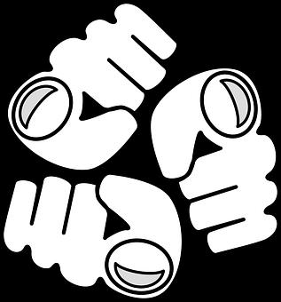 Fist, Logo, Aggression, Passive