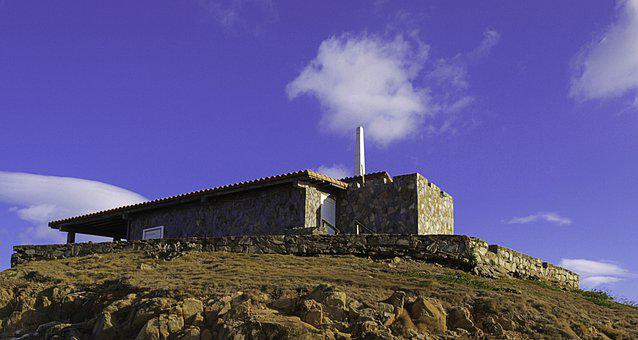Hostal, Mountain, Top, Margarita Island, Landscape