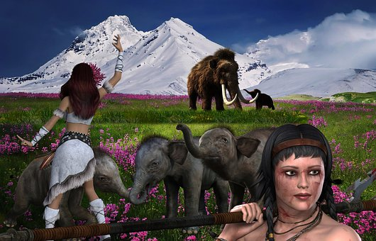 Mammoths, Alternate History, Science Fiction, Fantasy