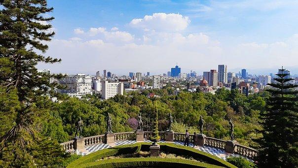 Chapultepec Castle, Forest, Castle, Children Heroes