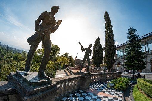 Children, Heroes, Castle, Chapultepec, Room, Table