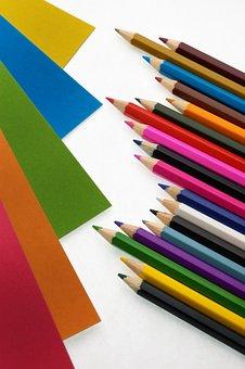 Ruler, Cardboard, Paper, Pasting, Fastening, Office