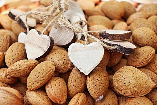 Almonds, Raw Almonds, Almond Cookies, Badam