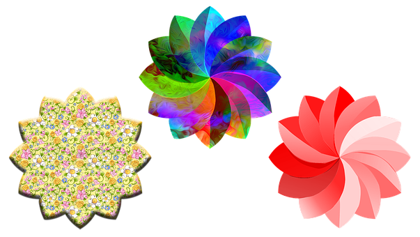 Flowers, Yarn, Knitter, Knitting, Sewing, Woman