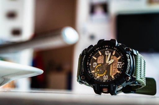 Hours, Casio, A Watch, Time, Minute, G-shock, Digital