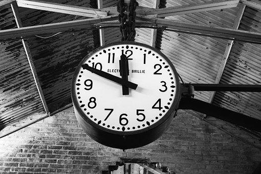 Clock, Classic Clock, Vintage Clock, Chelsea Market