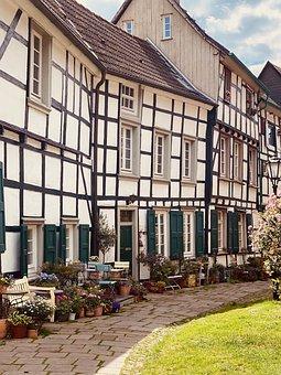 Hattingen, Historic Center, Fachwerkhäuser