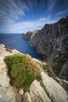 Cap Formentor, Mallorca, Coast, Sea, Rock, Cliff