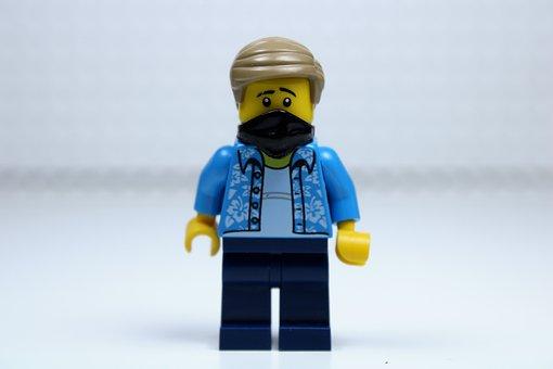 Corona Virus, Corona, Virus, Man, Lego, Toy, Cute