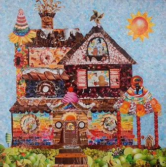 Home, Candy, Sweet, Fantasy, Fairytale, Food