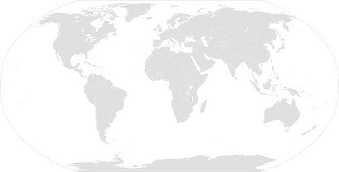 World Map, Globe, Geography, Earth, Nations, Planet