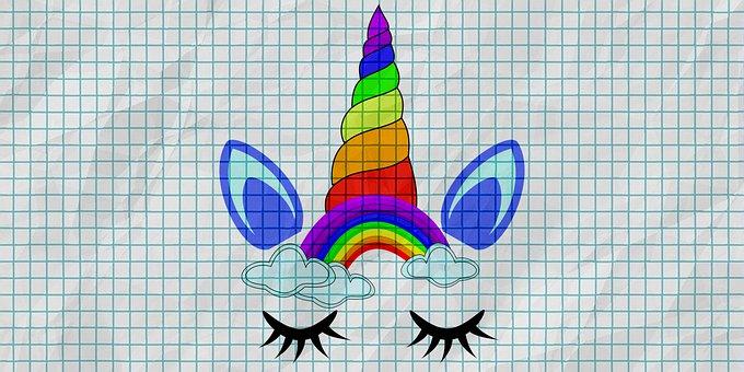 Unicorn, Colors, Horse, Girl, Colorful, Fantasy, Animal