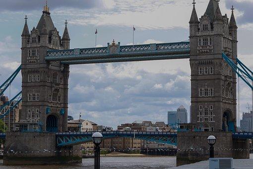 Bridge, Tower Bridge, London, England, Landmark