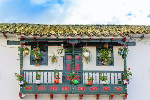 Colombia, House, Paramo, Houses, Cartagena, Sky