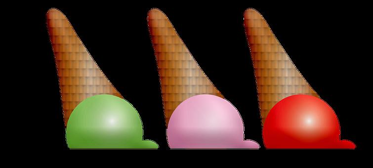 Ice Cream, Popsicles, Summer, Icecream, Dessert, Food