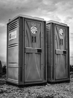Toilet Cabin, Wc, Toilet, Public, Sanitary Block