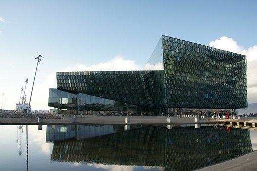 Iceland, Reykjavik, Building, Architecture, Harpa
