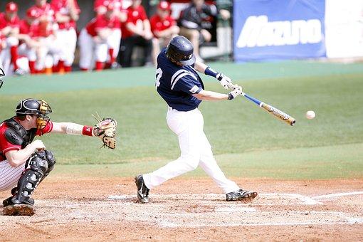 Hit, Catcher, Baseball, Home Plate, Baseball Game, Team