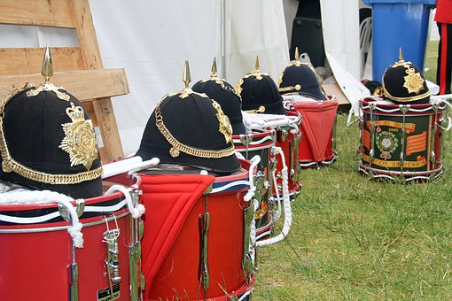 Drums, Band, British, Traditional