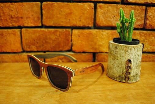 Over Ray, Sunglasses, Vintage, Cactus