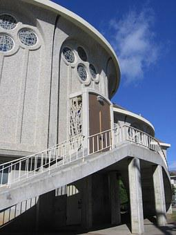 All Souls, Side Door, Church, San Francisco, California
