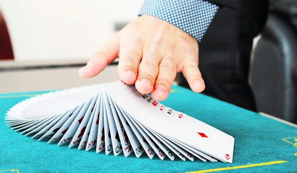Hands, Cards, Magic, Magician, Attention