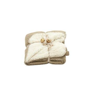 Plaid, Blanket, Christmas Balls, Gift, Christmas Gift