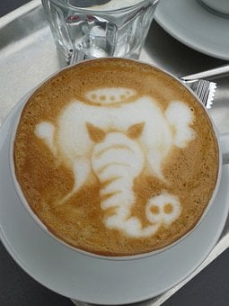 Coffeeart, Nice, Barista, Coffee, Art, Food, Enjoy