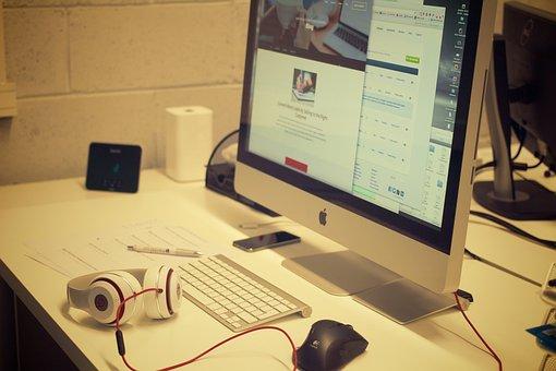 Workstation, Pc, Mac, Apple Inc, Creatives, Desk