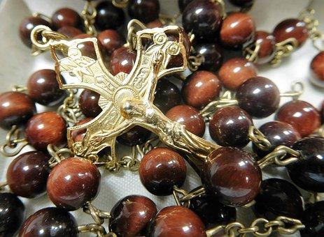 Rosary, Cross, Prayer, Catholic, Faith, Rosary Beads