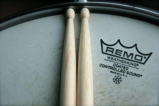 Percussion, Drums, Drum Kit, Drum Sticks, Snare