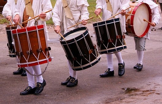 Drums, Percussion, Music, Parade, Instrument, Rhythm
