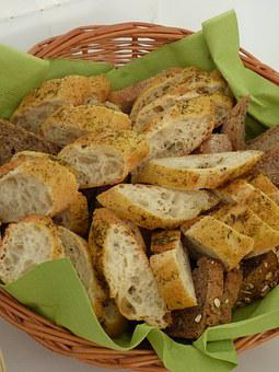 Breadbasket, Bread, Napkin, Eat, Food, Baked Goods