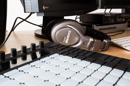 Headphones, Equalizer, Controller, Company, Home Office
