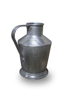 Cegledi Kanna, Water Jug, Aluminum, Instrument, Ethnic