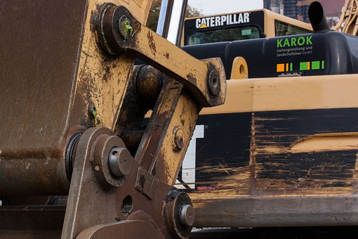 Site, Excavators, Tracked Vehicles, Hydraulic