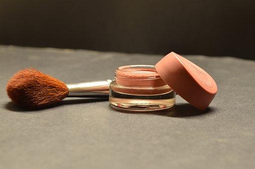 Cosmetics, Brush, Compact, Makeup, Beauty, Feminine