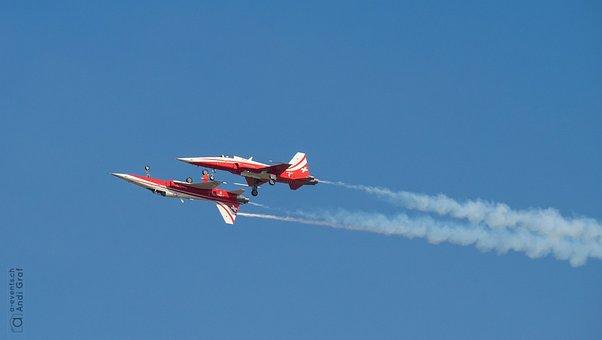 Fighter Jet, Flugshow, Patrol Suisse
