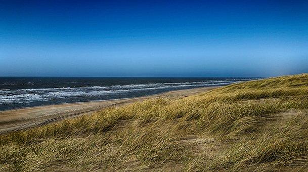 Beach, Holland, Hdr, Sea, Coast, North Sea, Sand