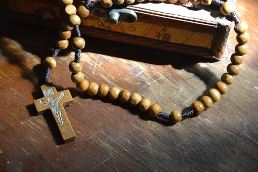 The Rosary, Beads, Christian, Cross, Jesus