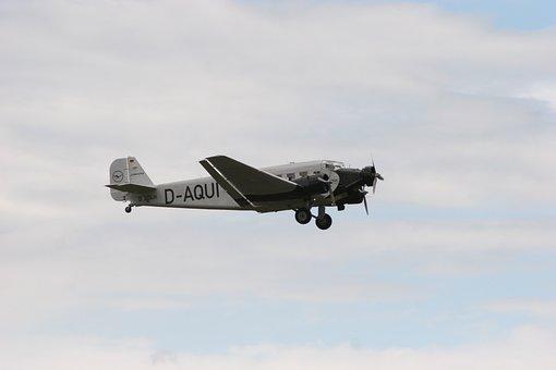 Aircraft, Ju52, Junker, Historically, Flugshow