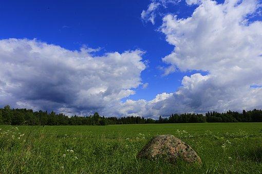 Landscape, Village, Russian Remote Places, Russia