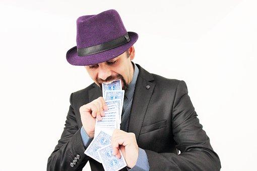 Cards, Magic, Magician