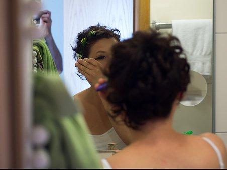 Make Up, Cosmetics, Makeup, Brush, Applying, Mascara