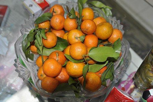 Mandarin Orange, Chinese New Year, New Year